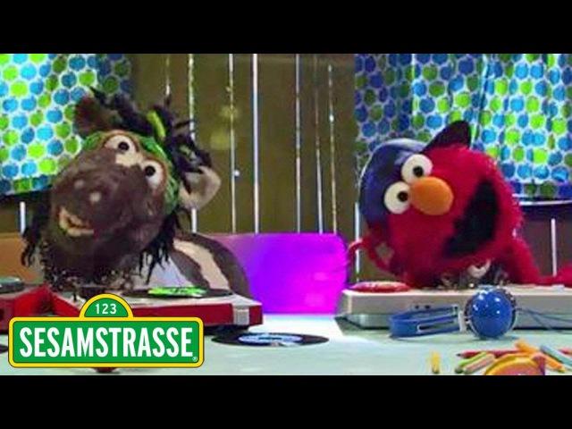 Elmo und Pferd rappen gegen Langeweile Sesamstraße