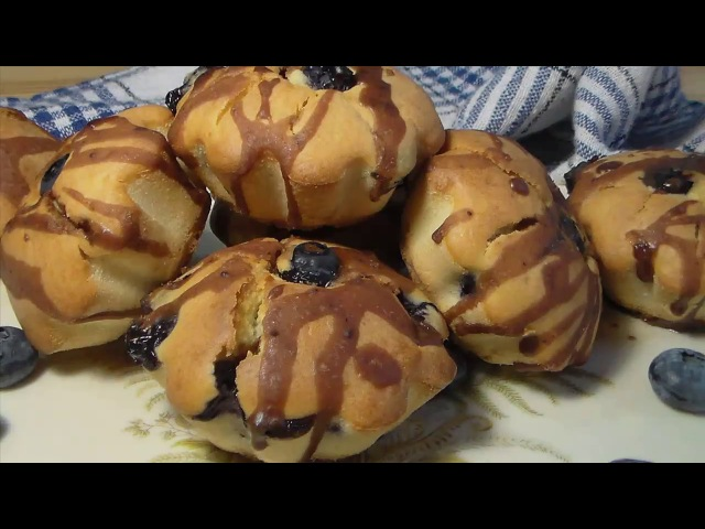 Кексы с голубикой - Марина Перепелицына