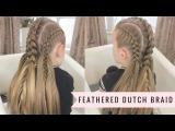 Feathered Dutch Braid By SweetHearts Hair