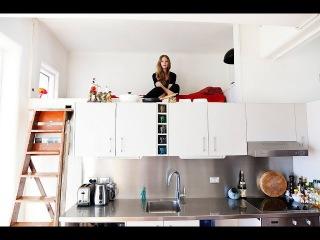 Как сэкономить место на кухне. Дизайн идеи. Фото.