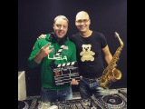 Denis Polyakoff &amp Syntheticsax - Live from radio station Megapolis FM Moscow