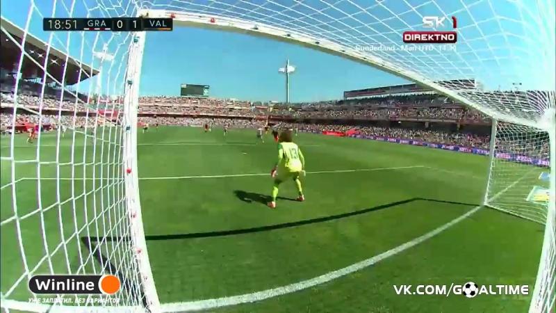ГолТВ рф Гранада Валенсия 1 3 Обзор матча Ла Лига