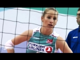 Top 10 BEST Volleyball DIGS by Gizem Orge (Hatice) - Libero from Turkey _ EUROVOLLEY 2017