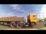 Авария на перекрёстке кладбища Бадалык (7 июня 2017 в 16:55)