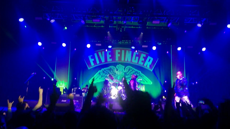 Five finger death punch - jekyll and hyde - a2 green concert saint-petersburg 12.11.2017