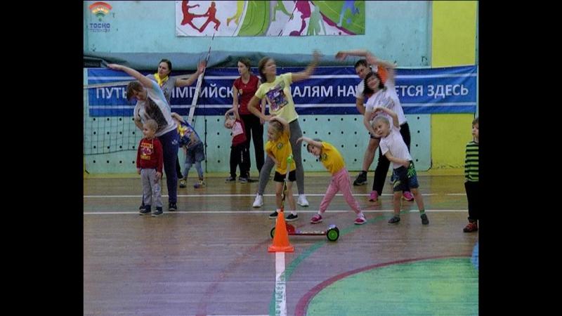 Спортивный фестиваль Папа, мама, я - спортивная семья, среди дошкольных учреждений, прошел в г.Тосно