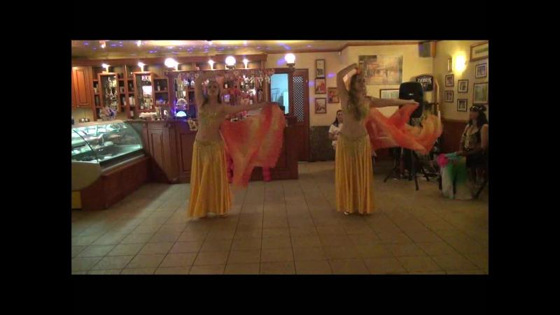 МЕЛОДИЯ - Рита и Света Скопцовы - стилизованный восточный танец