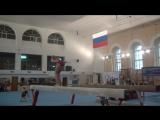 Вероника Дмитриченко. Бревно. Первенство СЗФО, Великий Новгород, октябрь 2017