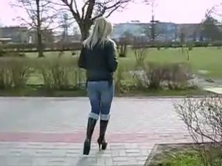 6 Stiletto Heel Platform Knee High Boots