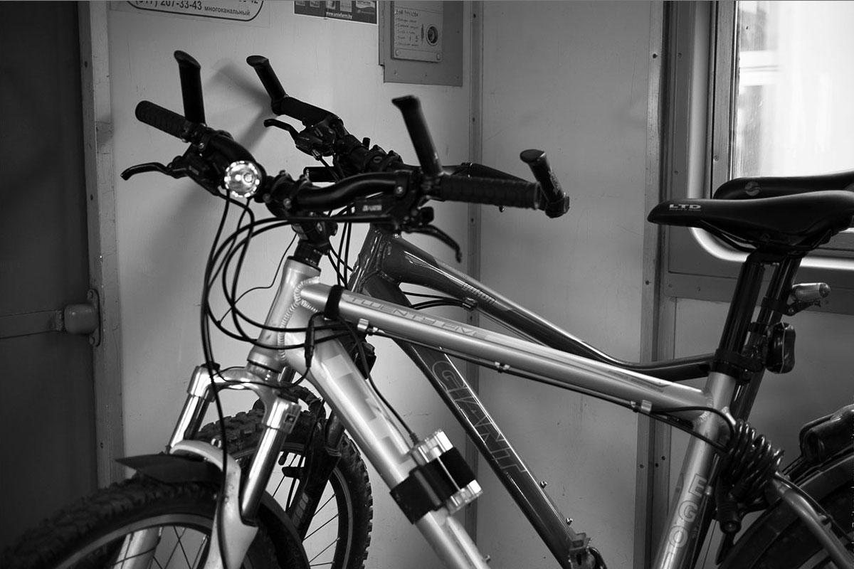 Провоз велосипедов станет бесплатным на некоторых пригородных направлениях с 1 июня