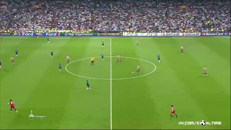Финал ЛЧ 2009/10 Бавария - Интер