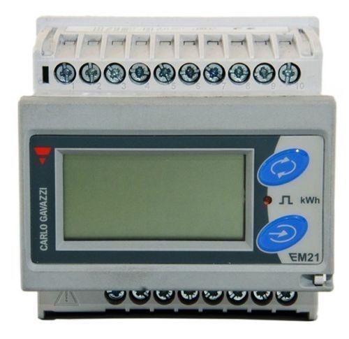EM21 электрический измеритель съемный ЖК-дисплей трехфазное 400 В 6A