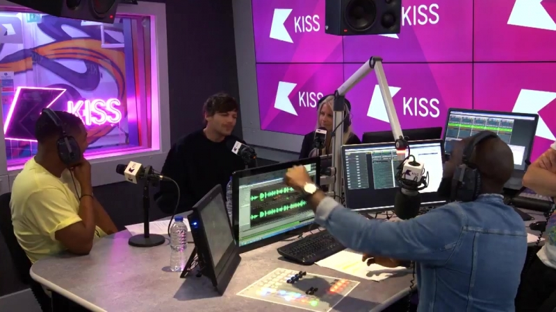 Луи о Дюнкерке на KISS FM