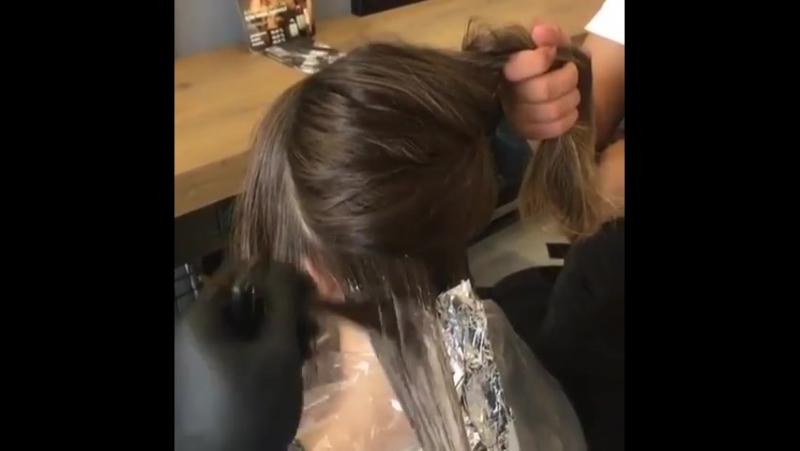 Из брюнетки в блонди волосы окрашивание балаяж красивый цвет