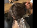Из брюнетки в блонди#волосы #окрашивание #балаяж #красивый цвет