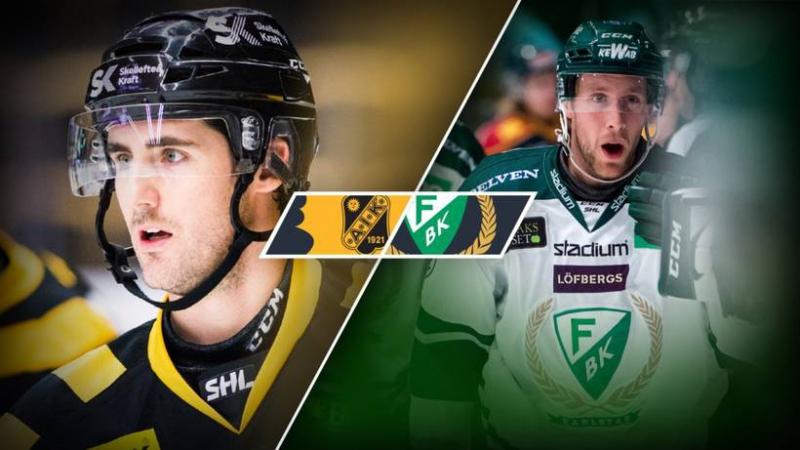 Skellefteå AIK Färjestad BK 2017 11 16