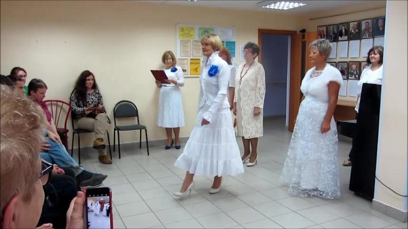19.10.2017 - Студия Модницы ДРКиИ - Женщина в белом