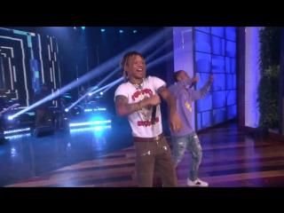 Rae Sremmurd - Black Beatles (Live On The Ellen DeGeneres Show_2017) ft. Gucci Mane