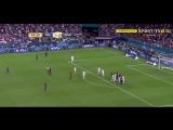 Реал 2:3 Барселона. Гол Пике