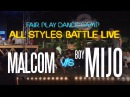 Malkom vs Boy MIjo | Fair Play Dance Camp: All Styles battle LIVE 2017