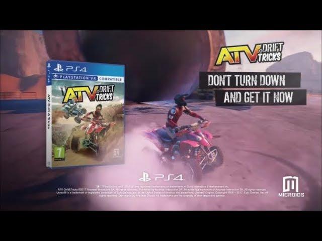 PS4 - ATV Drift Tricks