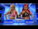 WFW SmackDown - Alexa Bliss vs Eva Mary