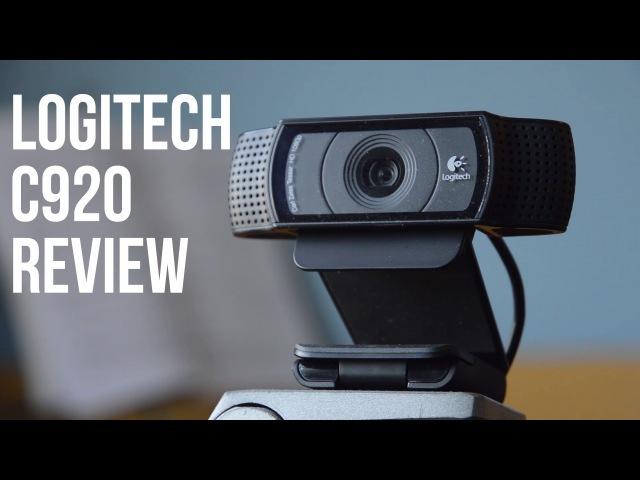 Обзор Logitech HD Pro Webcam C920 Видео тест сравнение
