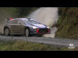 Wales Rally GB Best of Slow-mo - Hyundai Motorsport 2017