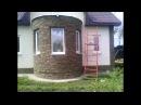 Недорогой и оригинальный фасад дома своими руками