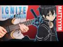 Sword Art Online II OP 1 - IGNITE - Guitar Cover