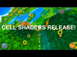 Sonic Lost World Cel Shaders