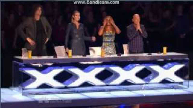 Rong Niu, amazing Chinese Woman Entertainer on Americas got Talent 2013