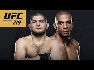UFC 219: KHABIB NURMAGOMEDOV VS EDSON BARBOZA ufc 219: khabib nurmagomedov vs edson barboza