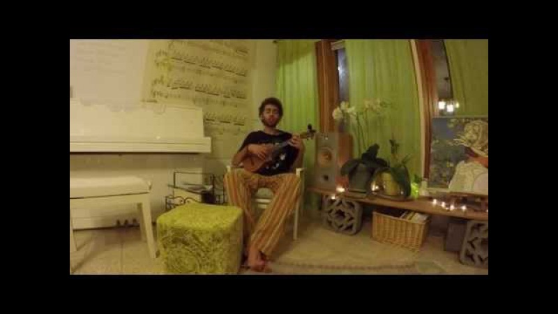 Left Hand Free Alt J ∆ Ukulele Cover by Roy Ungar