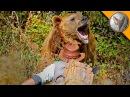 АТАКА МЕДВЕДЯ ГРИЗЛИ.Защита от медведя.Brave Wilderness на русском
