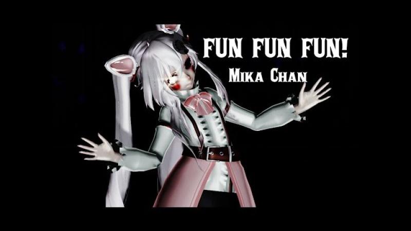 【MMDxFNAF】FUN FUN FUN! Mangle 【60fps】(MOTION DL)