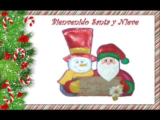 Muñecos de Navidad, Bienvenido de navidad