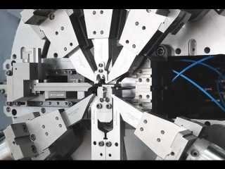Crazy high-speed machines for stamping and forming metal parts. NEW German innovation and technology