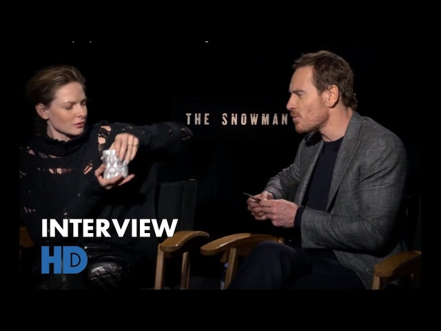 The Snowman HD 2017 Michael Fassbender Rebecca Ferguson talak bout the movie interview