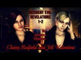 Claire Redfield and Jill Valentine |  Runnin |HD1080p
