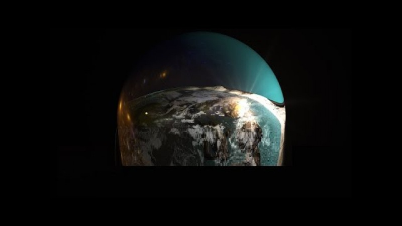 Раннее видео с края Плоской Земли где удалось заснять нижнюю опору Купола
