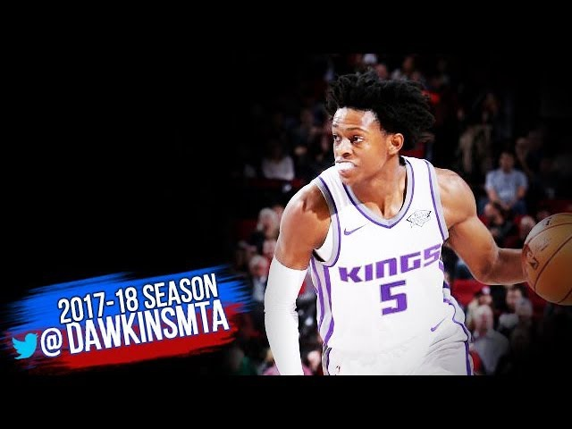De'Aaron Fox Full Highlights 2017.11.20 vs Nuggets - 12 Pts, 5 Assists