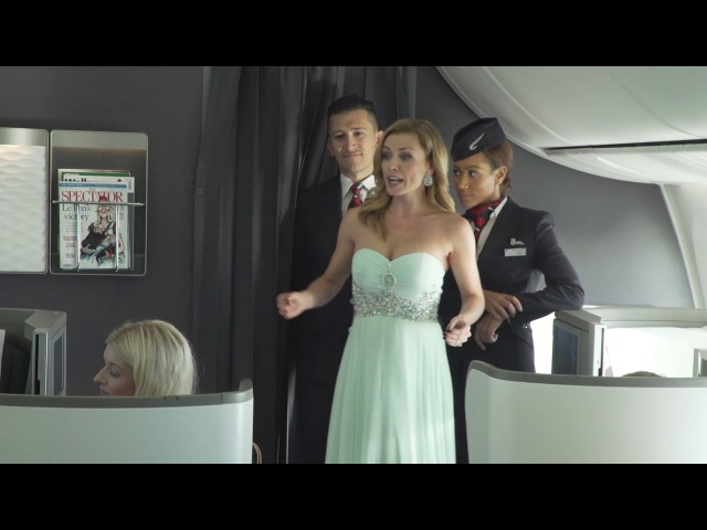 British Airways- World's first ballet and musical performance at 41,000 feet