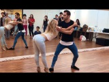 Kiko &amp Christina - Bachata Sensual in Seoul Chris Brown ft. Jordin Sparks - Vertigo, DJ ERANZ