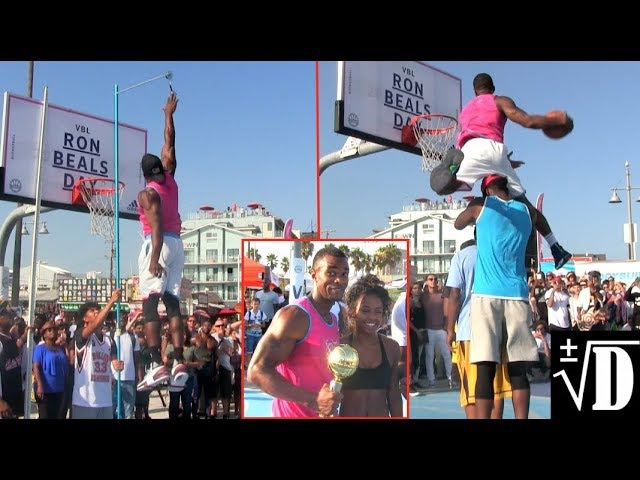 DOPE Highlights From VBL Ron Beals Day! Reemix Staples Dunk Contest!