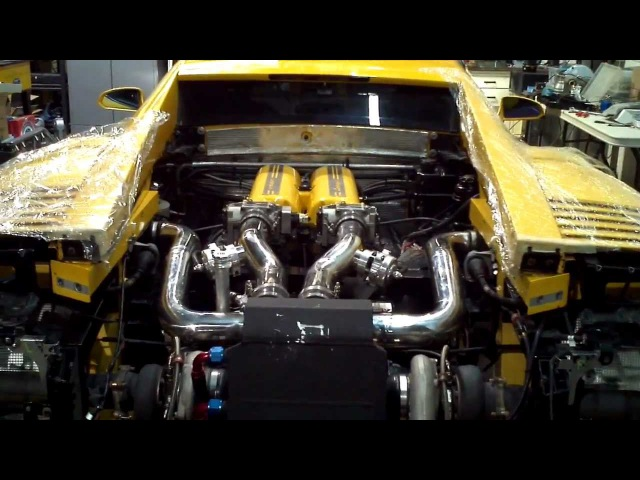 Lamborghini Gallardo Twin Turbo - Engine break in - TTG