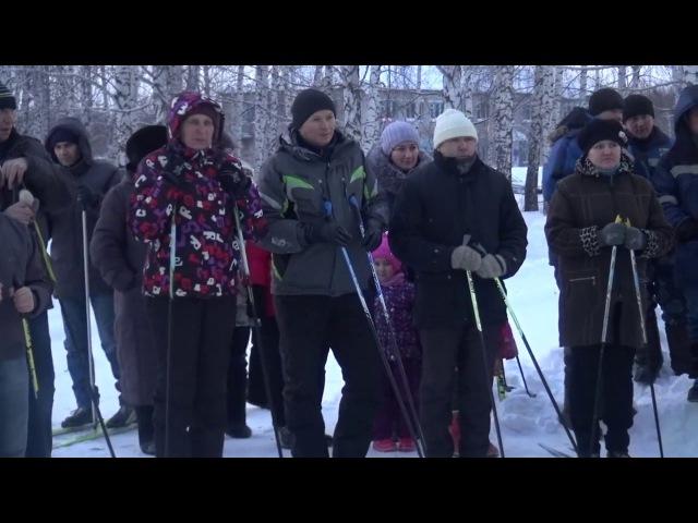 Инициатива поощряется. В с. Старобаишево открылась освещенная лыжная трасса