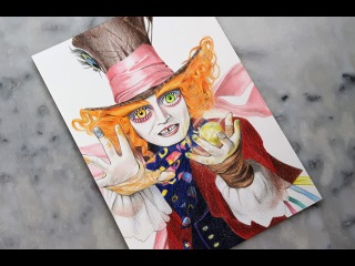 Drawing The Mad Hatter / Le Chapelier Fou