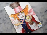 Drawing The Mad Hatter Le Chapelier Fou