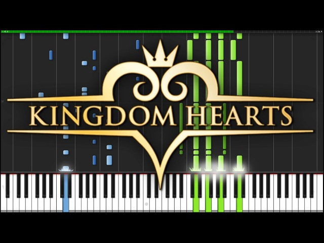 Hikari - Kingdom Hearts 2.8 [Piano Tutorial] (Synthesia) Narutimate77